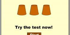 Concentration test